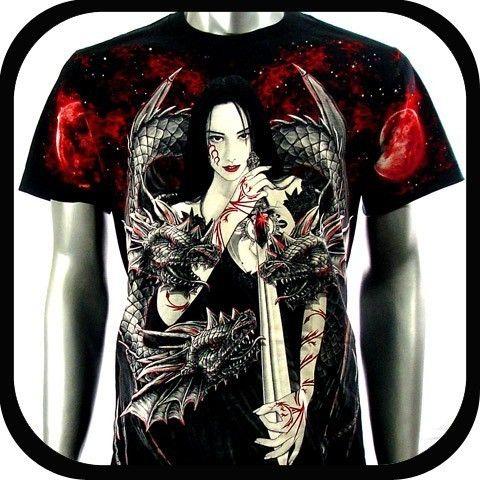 Rock Eagle T Shirt Limited Edition Biker E45 Sz XXL Tattoo Heavy Metal