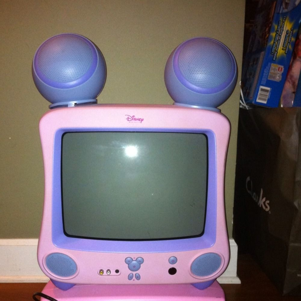 Minnie Mouse Tv Dvd Player