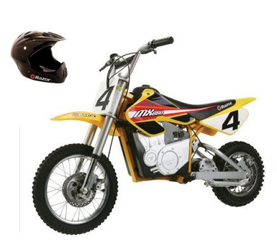 Razor MX650 Dirt Rocket 36V Electric Motorcycle Bike & Full Face