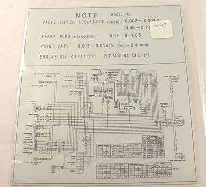 1972 75 kawasaki z1 kz900 electrical wiring diagram sticker decal tail 2005 kawasaki mule wiring-diagram 1972 kawasaki wiring diagram #29