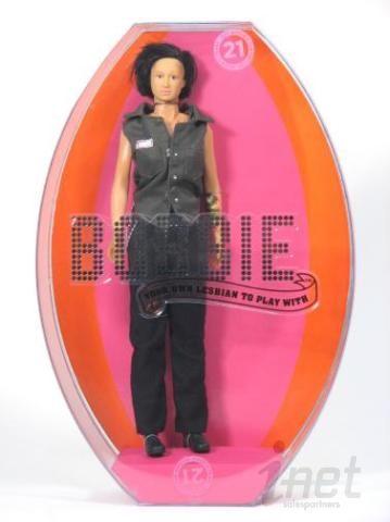 """Dyke Dolls Bobbie Doll 12"""" Action Figure Gay Lesbian LGBT Doc"""