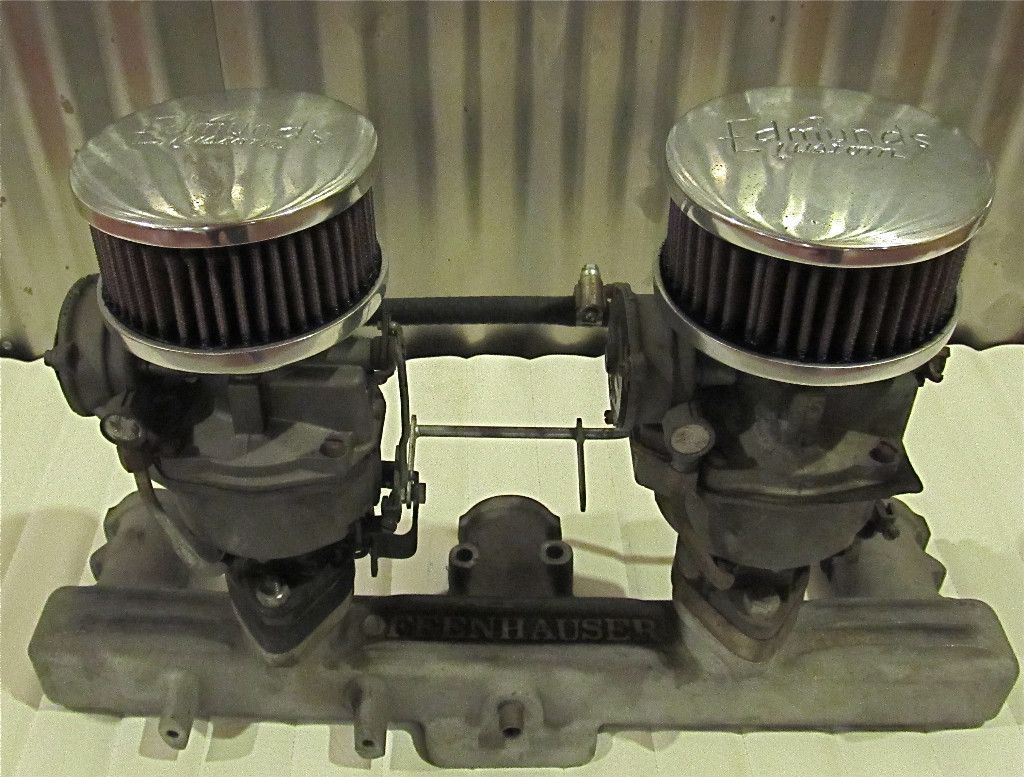 EDMUNDS 1 BARREL AIR CLEANERS 1932 FORD CHEVY GMC HOT RAT ROD SCTA