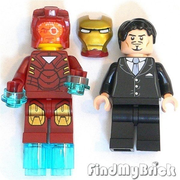 Heroes Iron Man Minifigure Custom Anthony Tony Edward Stark New
