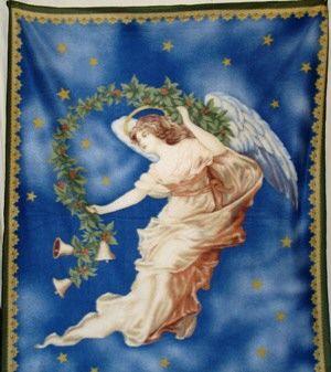 Flying Angel Soft Fleece Throw Blanket Beautiful Soft