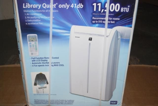 BTU Eco Friendly Bucketless Portable Air Conditioner CV2P12SX