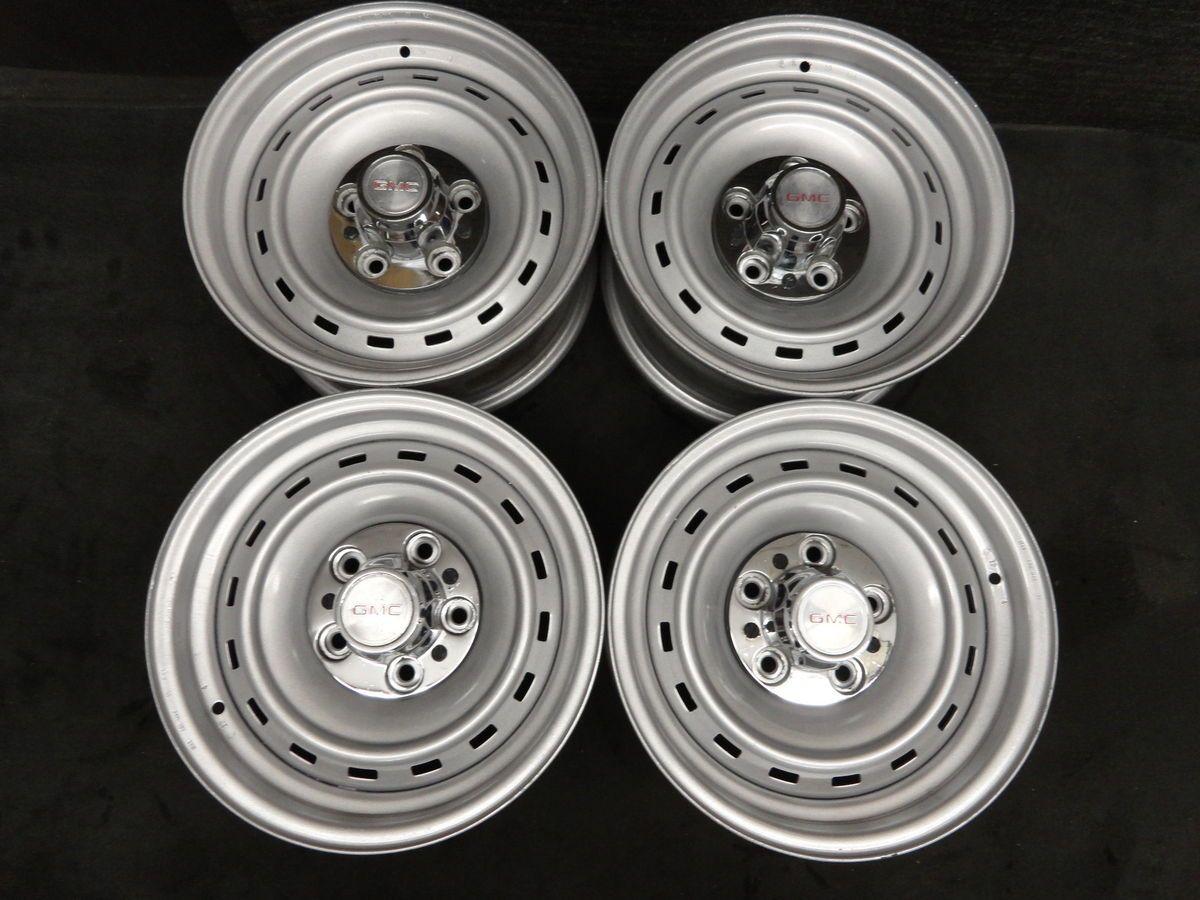 15 Chevy GMC Truck Or Van Rally Wheels RARE Rims 5on5 Silverado Sierra