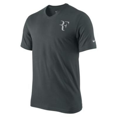 RF Trophy Tee T Shirt Top GREY SAGE/TECH GREY Indian Wells 2011 New