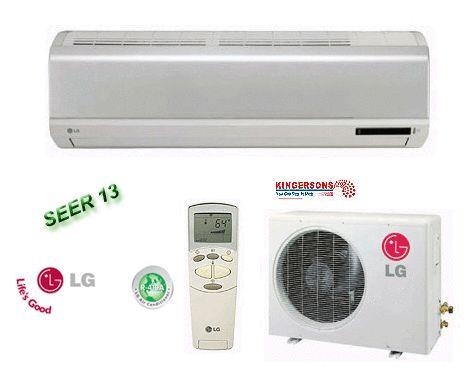 Mini Split Air Conditioner SEER 13 Cool Heat Standard Unit