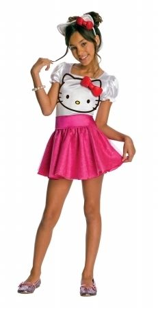 Rubies 211810 Hello Kitty Hello Kitty Tutu Dress Child Costume Pink