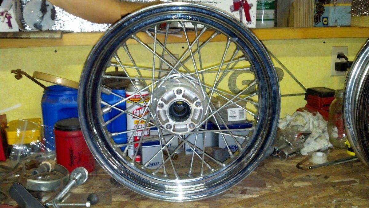 Harley Davidson Stock Wheels