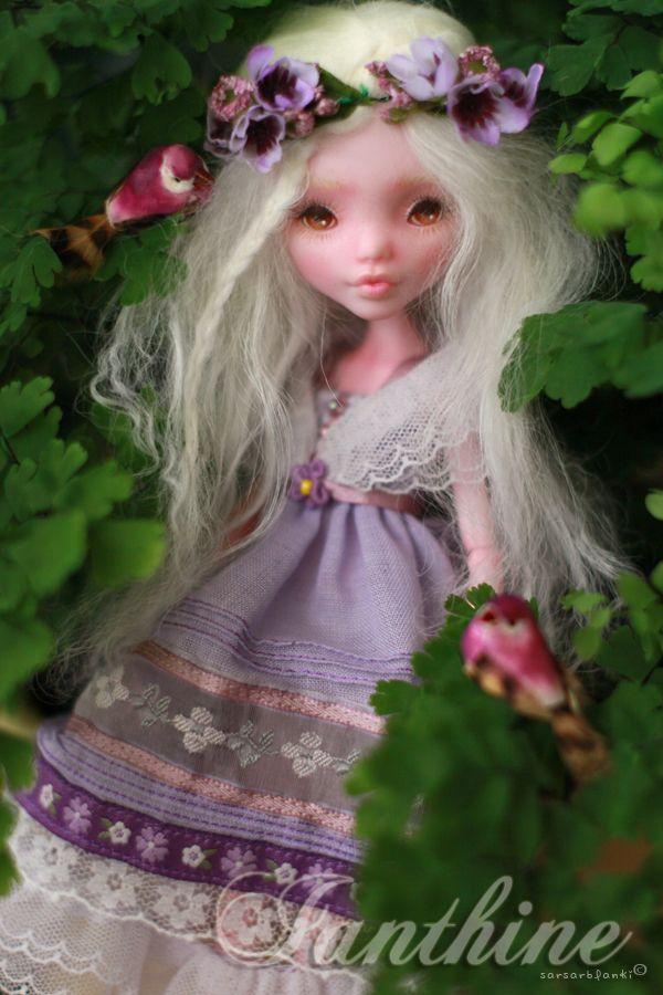 Ianthine OOAK Custom Repaint Monster High Doll Draculaura by