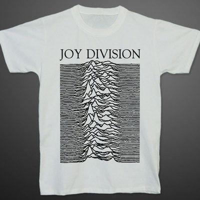 Joy Division Unknown Pleasures Ian Curtis T Shirt M