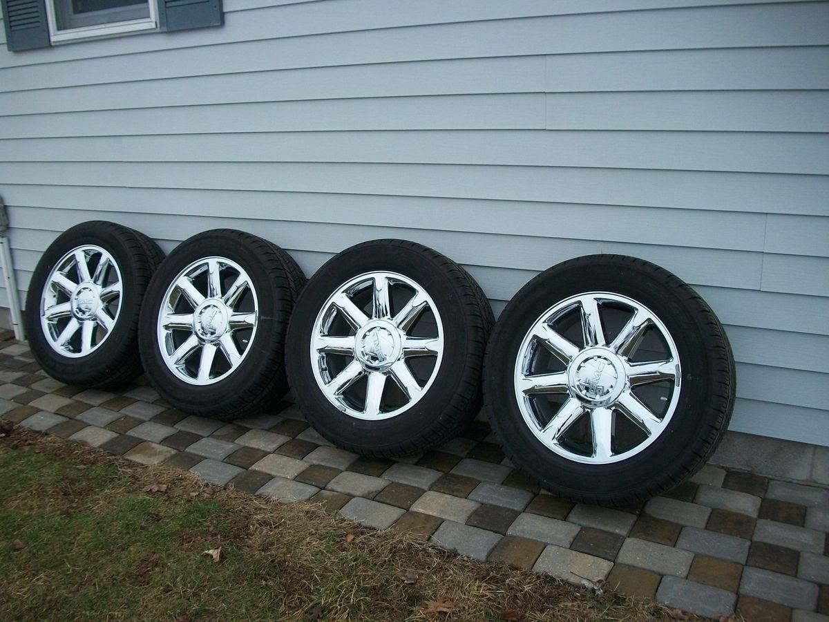 2012 20 Chrome Wheels Tires GMC Yukon Denali Sierra C3 OE Factory