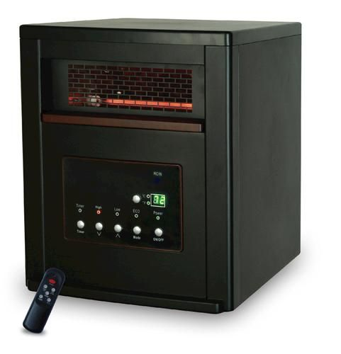 Life Smart 4 Element Quartz Infrared Portable Heater s 2pc 1000 1000W