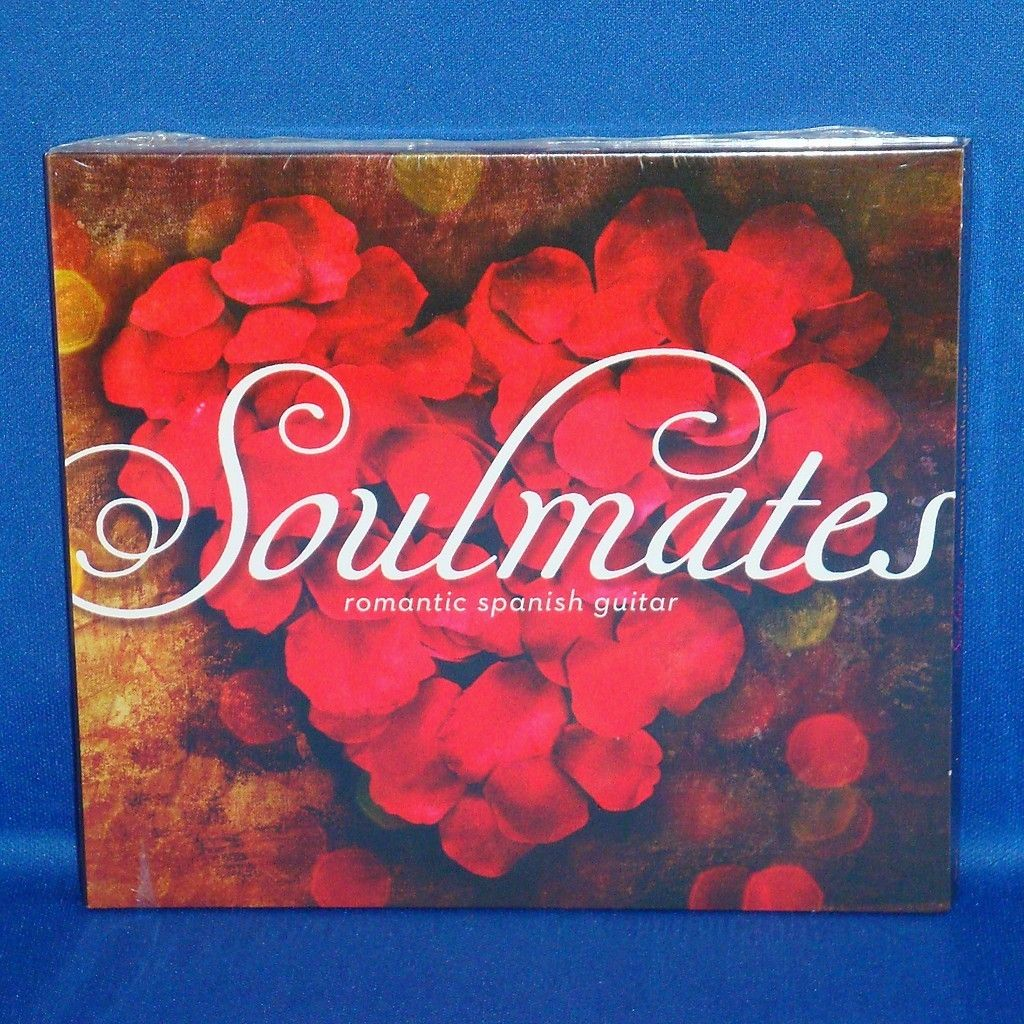 Soulmates Romantic Spanish Guitar Instrumental Music CD New