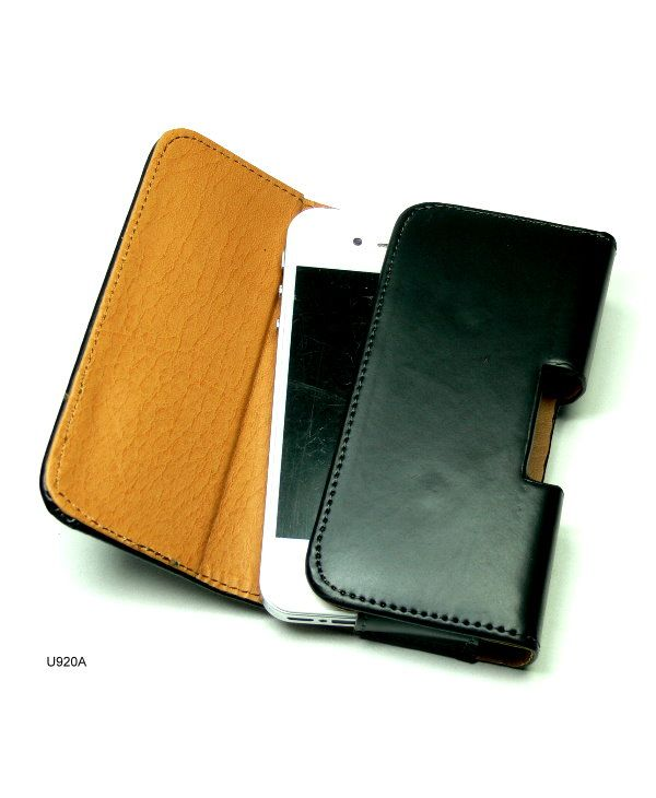 Horizontal Pouch Holster with Belt Clip Case for iPhone 4 U920A