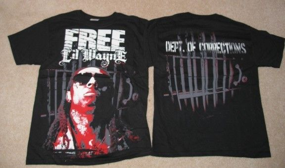 Lil Wayne Prison Cell Shirt New Rap Hip Hop