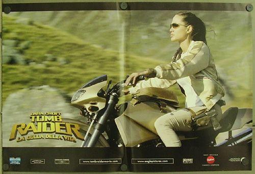 GP41 Lara Croft Tomb Raider 2 Angelina Jolie 4 Orig ITA