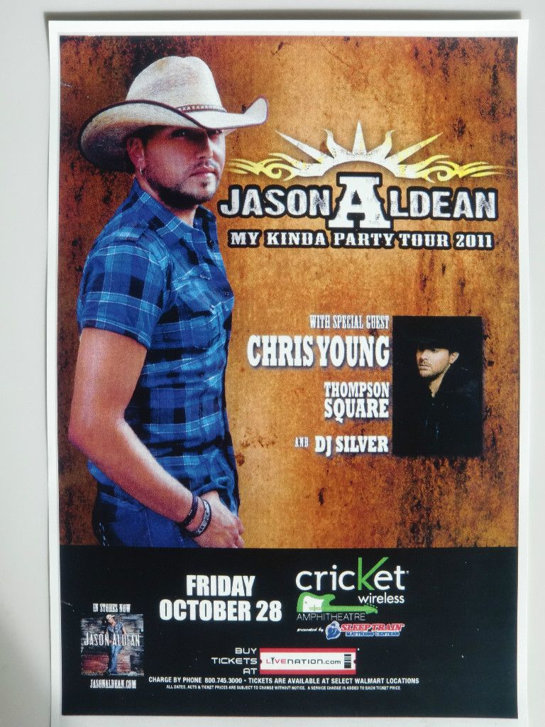 Jason Aldean Chris Young Thompson Square 2011 San Diego Concert Tour