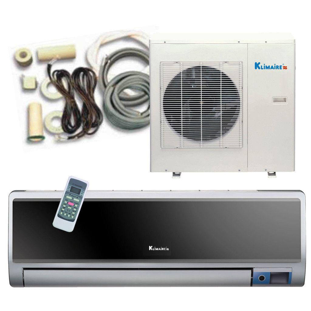12 000 BTU KLIMAIRE INVERTER Mini Split Heat Pump Air Conditioner 20