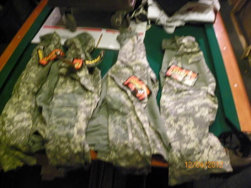 NEW LOT 4 MASSIF ARMY COMBAT SHIRTS ACU LARGE WHOLESALE DEALER MAKE