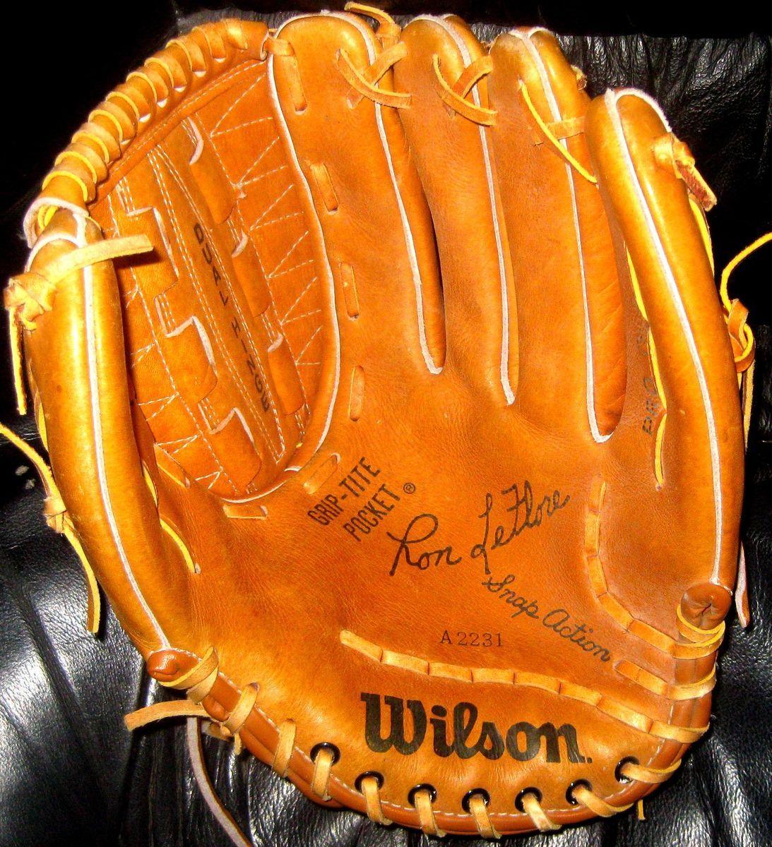 Vintage Wilson A2231 Ron LeFlore Baseball Glove Detroit Tigers
