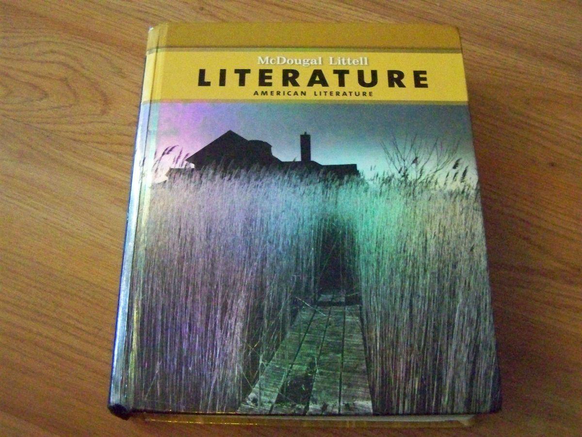 McDougal Littell American Literature 11th Grade Textbook
