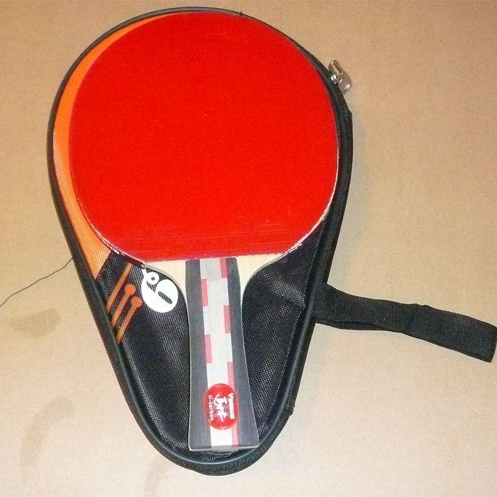 Yasaka MaLin III Carbon Ti Table Tennis Bat Paddle Racket w Case Loop