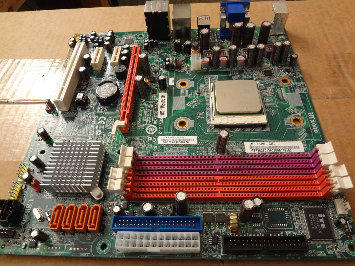 Mcp61pm-gm motherboard - Athlon II X2 235e upgrade ... on