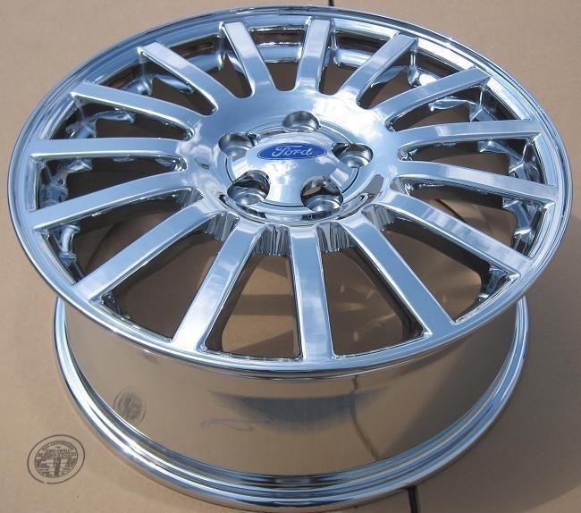 New 18 Factory Mercury Montego Ford 500 Chrome Wheels Rims
