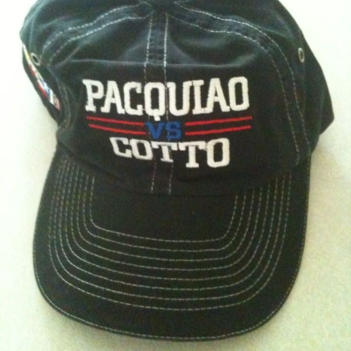 Miguel Cotto vs Manny Pacquiao Boxing Hat New