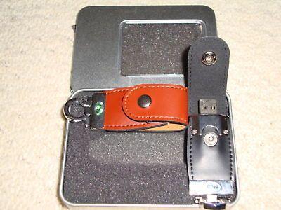 Newly listed 64GB USB Key Leather Pen Thumb Memory Flash Stick Drive