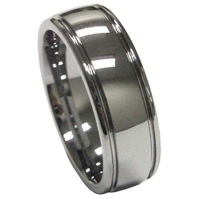 Newly listed Alejandro Tungsten Carbide Ring Brushed Satin Superb