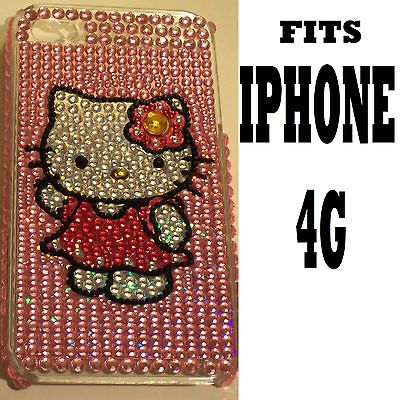Hello Kitty Angel Wings LAST ONE Bling Rhinestone Back Case Cover for