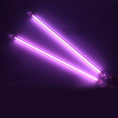 CCFL Cold Cathode Car Interior Neon Kits Lights PC Bright US Delivery