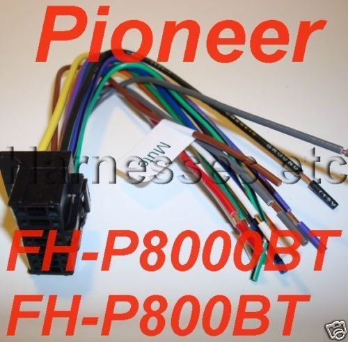 PIONEER Wire Harness PLUG FH P8000BT FH P800BT NEW on aftermarket car speaker, aftermarket car fans, aftermarket car radio, aftermarket radio wiring guide, aftermarket car speedometer, aftermarket audio kit, aftermarket auto stereo, aftermarket radio harness, radio wiring harness, aftermarket car antenna, aftermarket stereo wiring harness adapters, dual xd7500 wiring harness, aftermarket car alarm remotes, chevy cobalt aftermarket stereo wiring harness, 2000 bonneville stereo wire harness, toyota wiring harness, aftermarket stereo color codes, 2001 ford mustang stereo harness, aftermarket car dvd player,
