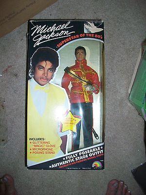 VINTAGE 1984 MICHAEL JACKSON American Music AWARDS DOLL MIB