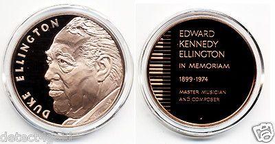 Big Band Jazz Music Legend Edward Kennedy Duke Ellington Bronze