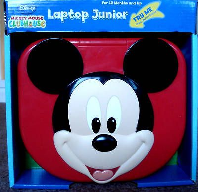 DISNEY MICKEY MOUSE CLUBHOUSE,BABY & TODDLERS LAPTOP JUNIOR,1+,LIGHTS
