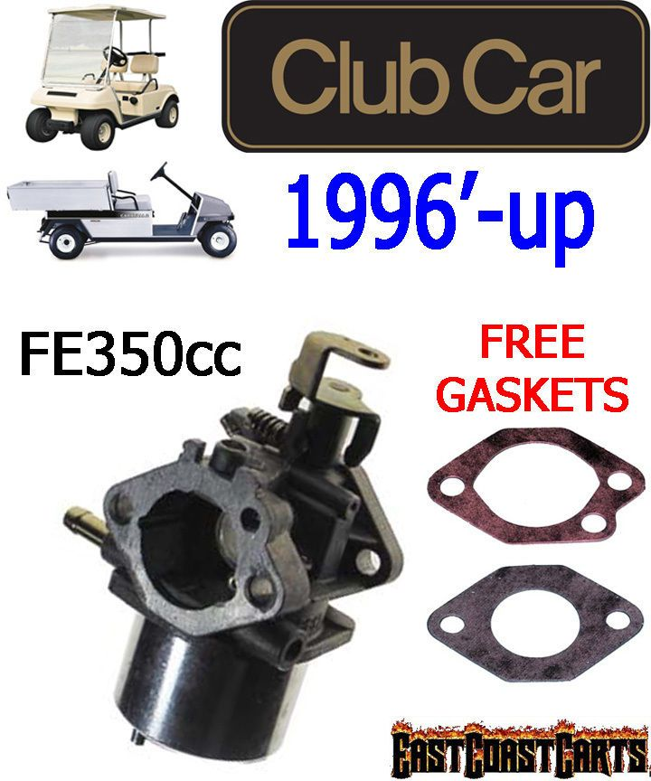 Club Car Golf Cart, Carryall 1996 Newer Carburetor 350cc 1019059