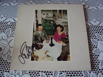 Led Zeppelin John Paul Jones Signed Autographed LP Record Presence