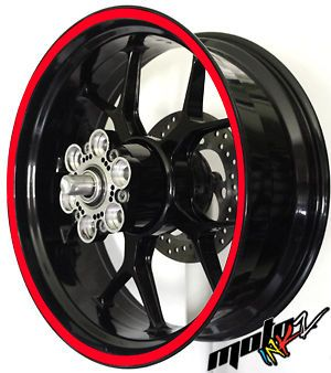 17 inch Motorcycle Scooter Car Truck Wheel Rim Stripes Stickers Decals