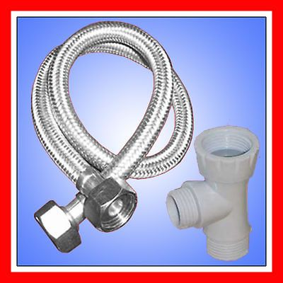 28   TOILET BIDET ADAPTER PLUMBING KIT   24 hose &Tee T