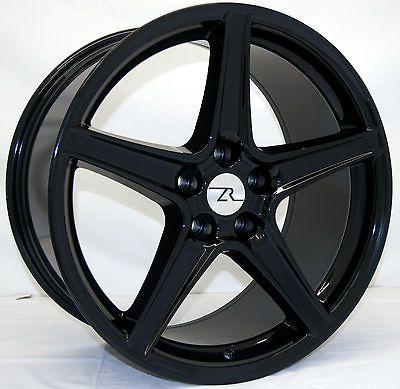 Black Mustang ® Wheels fits Saleen 19 Replica 2005 2013 19 inch rims