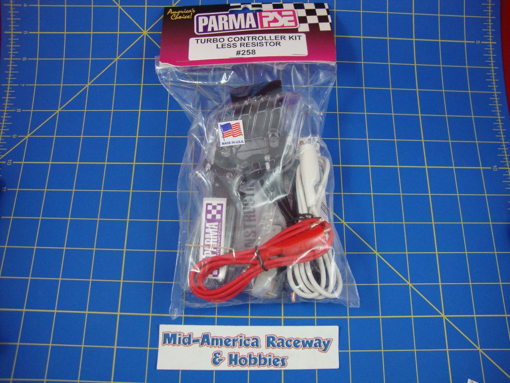 Parma 258 Turbo Slot Car Hand Controller Kit Less Resistor