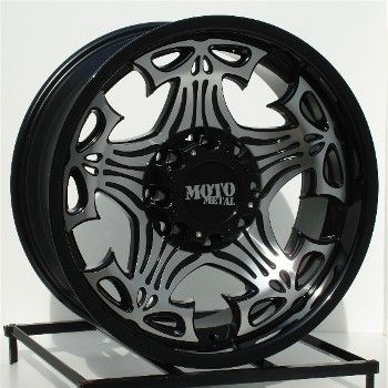 17 inch Black Wheels Rims Chevy Dodge RAM HD 2500 Truck