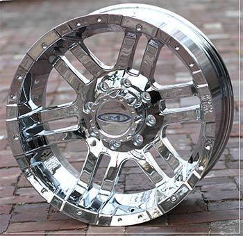 16 inch Chrome Wheels Rims Ford F250 F350 Truck 8 Lug