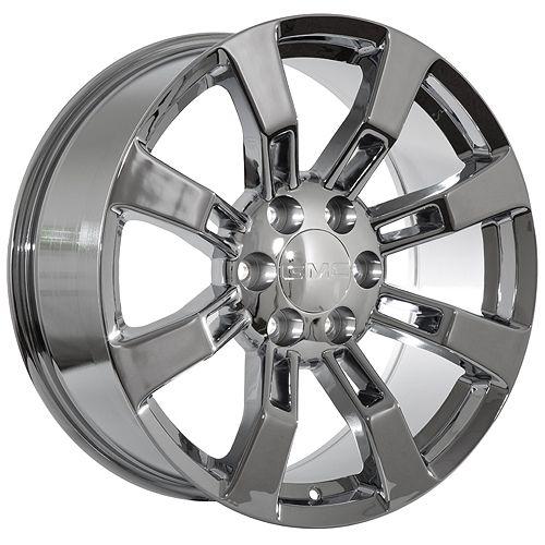 20 Chrome GMC 2012 Yukon 2012 Denali Wheels Rims