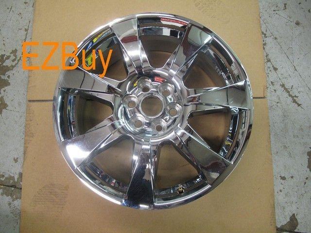 20 Cadillac SRX 2010 2011 2012 Factory Chrome Clad Wheel Rim 4666