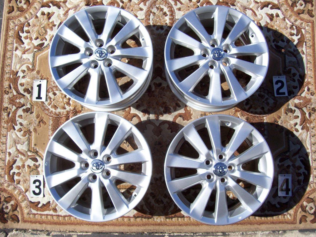 2011 Toyota Corolla 16 Wheels Rims Stock Factory Matrix Vibe 16 Rims